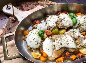 Mozarella Chicken Thighs