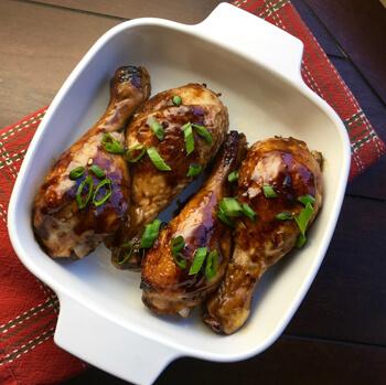 Balsamic Glazed Chicken Drumsticks